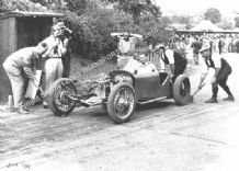 GN Martyr. R Instone. Shelsley Walsh Hillclimb June 47